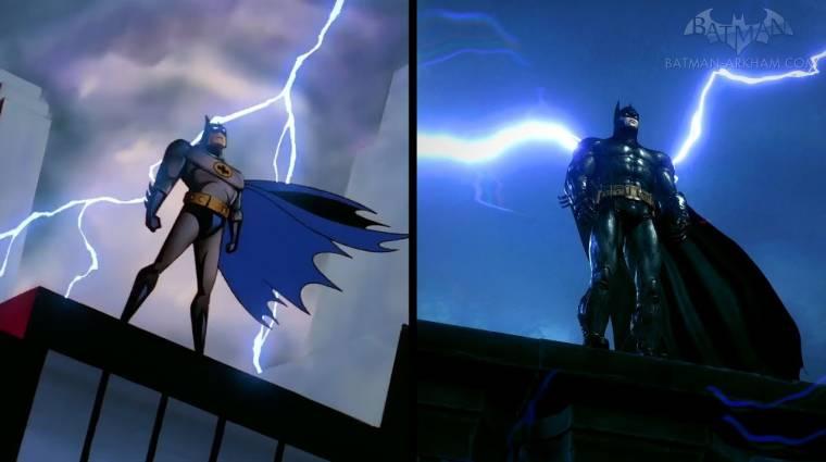 Újraalkották a Batman: The Animated Series intróját az Arkham játékok stílusában bevezetőkép