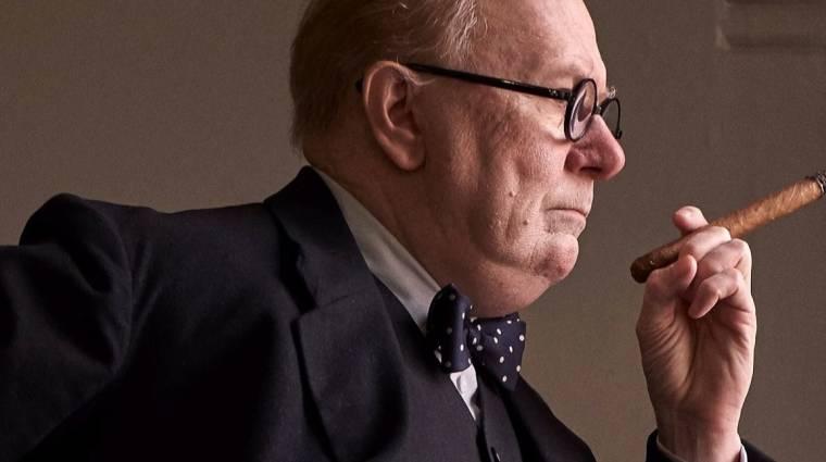 A legsötétebb óra - traileren Gary Oldman, mint Winston Churchill kép
