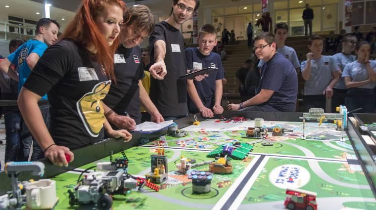Ismét nagyszabású robotverseny lesz Budapesten bevezetőkép