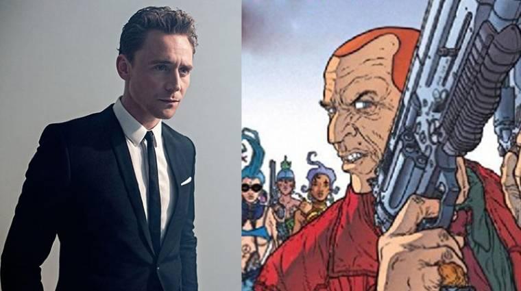 Tom Hiddleston főszereplésével jöhet Frank Miller díjnyertes képregényének adaptációja kép