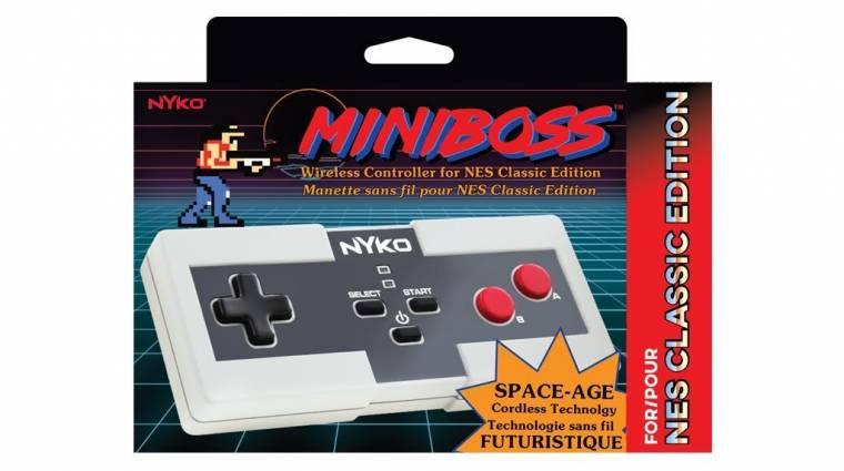 Ha zavar a NES Classic kontrollere, van vezeték nélküli is bevezetőkép