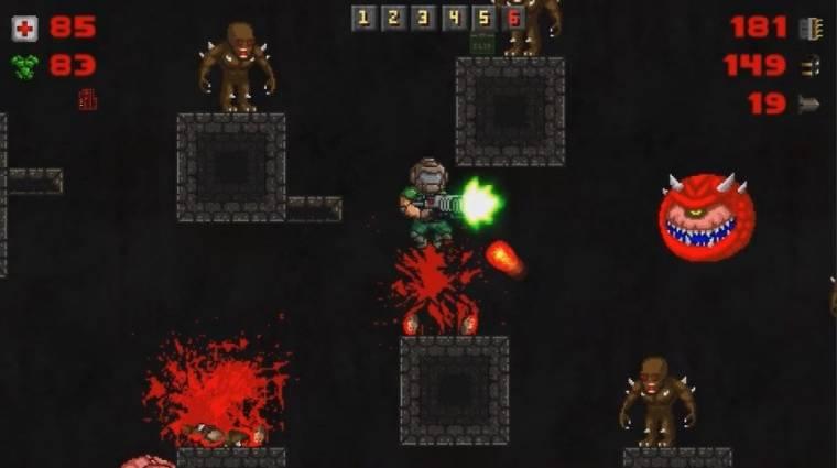Ingyenes játékból tudhatod meg, hogy a Doom oldalnézetes platformerként is működik-e bevezetőkép