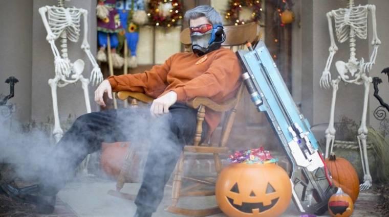 A Halloween sztárja az apuka, aki Soldier 76-nak öltözött bevezetőkép