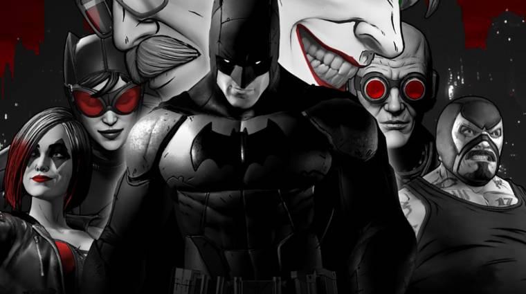 A Telltale Batman sorozata noir stílusban is játszható lesz bevezetőkép