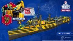 Kedvenc Transformers karaktereink csatlakoznak a World of Warships csatáihoz kép