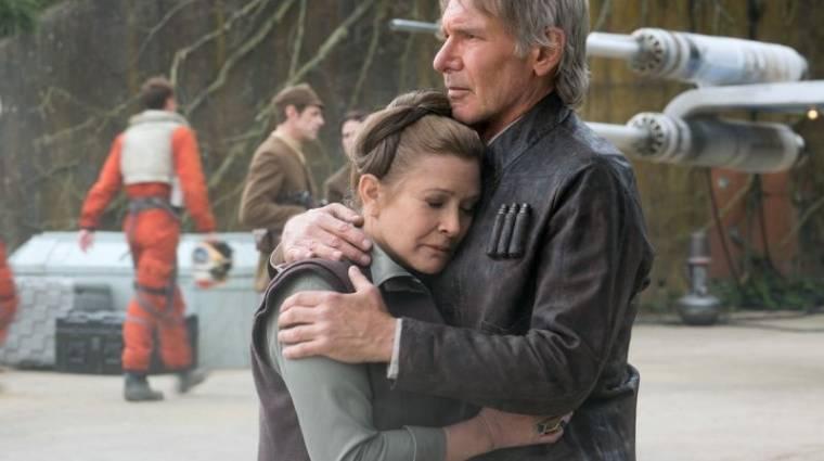 Star Wars VIII - Carrie Fisher befejezte a jeleneteit kép