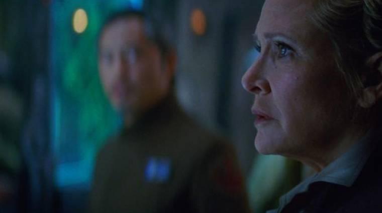 Nem élesztik fel digitálisan Leiát a Star Wars univerzumban kép