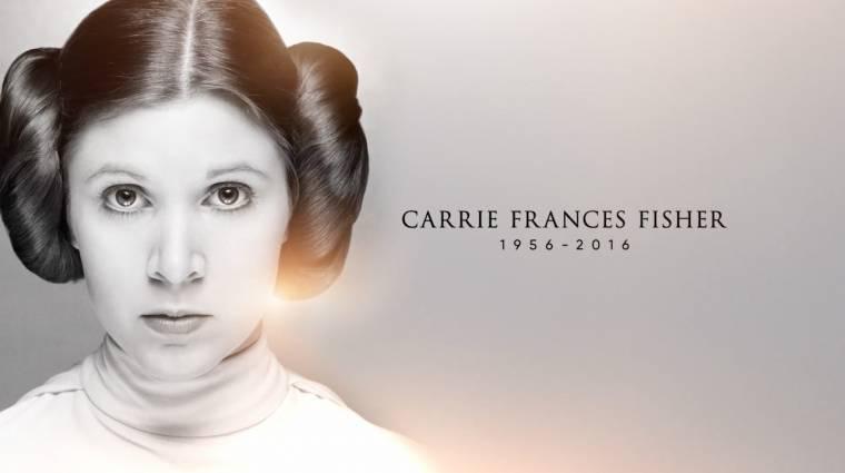 Így emlékeztek meg Carrie Fisherről a Star Wars ünnepségen kép