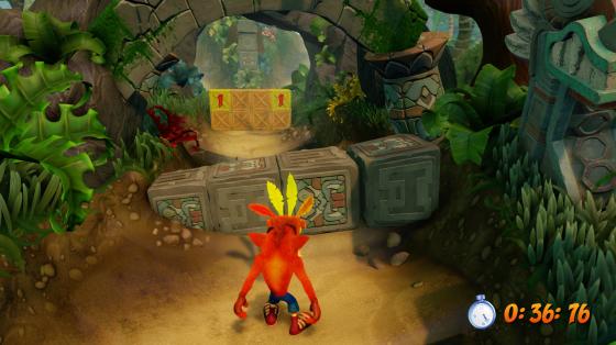 Crash Bandicoot N. Sane Trilogy PS4 infódoboz