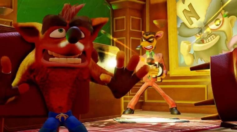 Crash Bandicoot N. Sane Trilogy - júniusban több fogyott belőle egy nap alatt, mint bármely PS4-es játékból a hónapban bevezetőkép