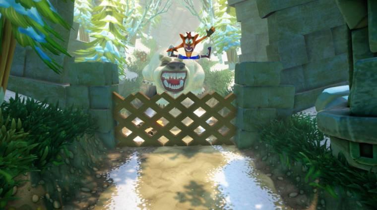 Megingathatatlan a Crash Bandicoot N. Sane Trilogy bevezetőkép