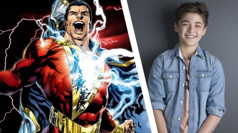 Ő lesz az ifjú Shazam az új DC filmben kép