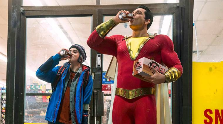 Comic-Con 2018 - hangulatos előzetesen a Shazam! kép