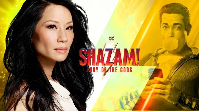 Lucy Liu is csatlakozott a Shazam! - Fury of the Gods stábjához kép