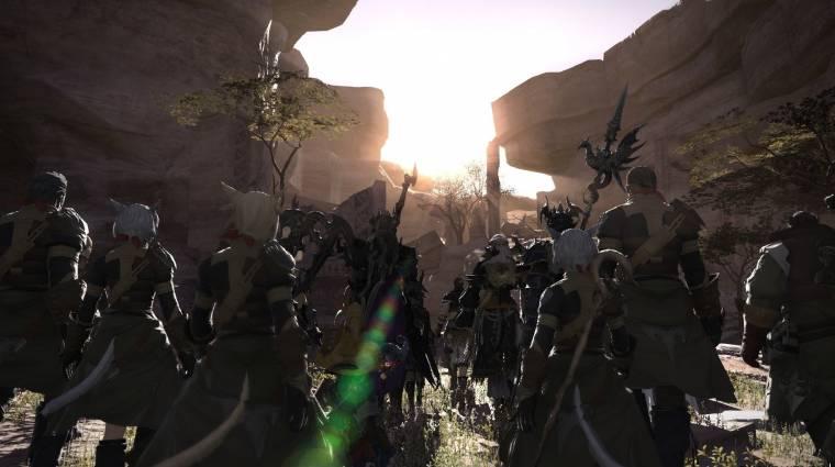 Final Fantasy XIV - ismét egy mérföldkőhöz segítette hozzá a kiegészítő bevezetőkép