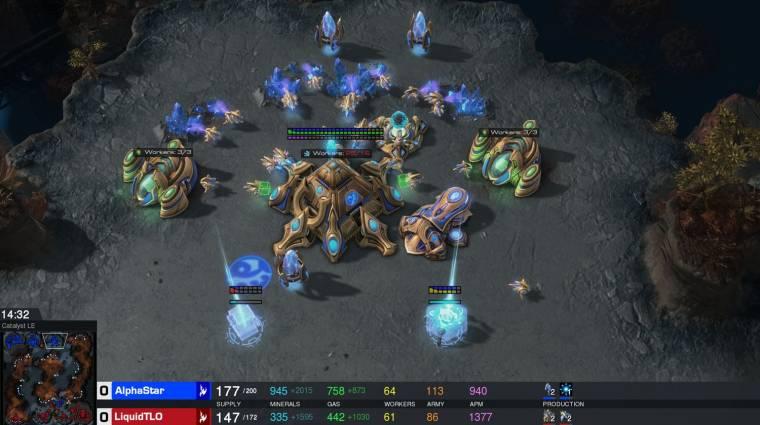 Profi StarCraft II játékosokat vert el a Google mesterséges intelligenciája bevezetőkép