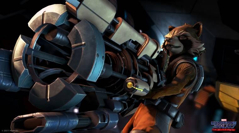 Nyakunkon a Telltale-féle Guardians of the Galaxy megjelenése bevezetőkép