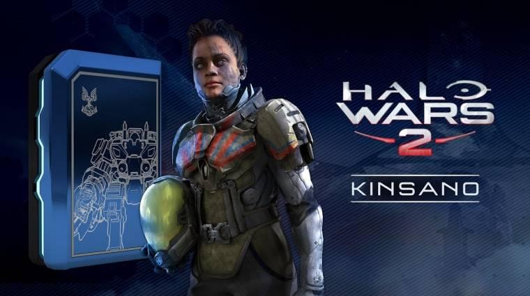 Halo Wars 2 - bemutatkozott Kinsano, az új parancsnok bevezetőkép