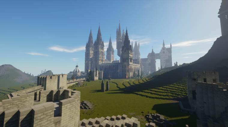 Egy teljes Harry Potter játékot készítettek a Minecrafton belül bevezetőkép