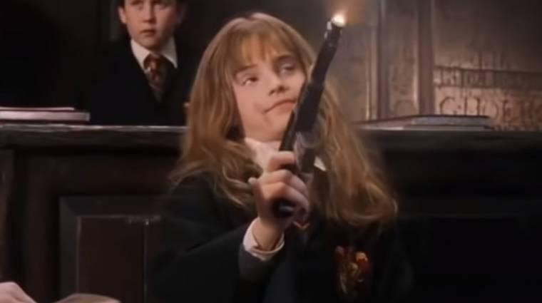 Napi büntetés: ilyen lenne a Harry Potter, ha a varázspálcákat lőfegyverekre cserélnénk bevezetőkép