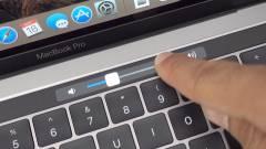 A jövő MacBook Pro-in már meg se kell érinteni az érintősávot kép