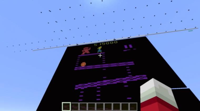 Minecraft - a játékban épített Atari 2600 emulátor egyszerűen csodálatos bevezetőkép
