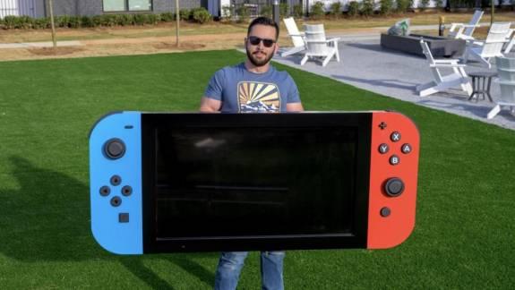 Egy gyermekkórház kapta a világ legnagyobb működő Nintendo Switchét kép
