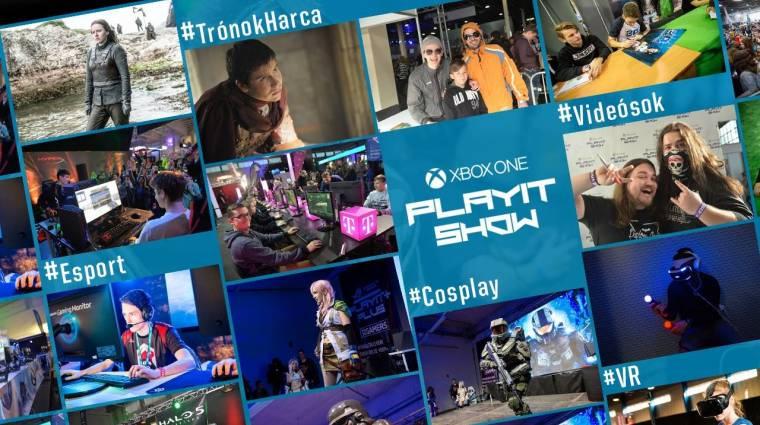 Ennyi minden vár rád a szombati Xbox One PlayIT Show-n! bevezetőkép