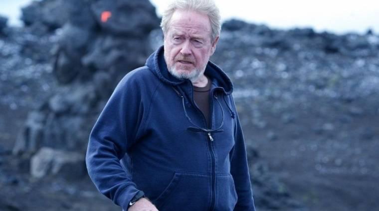 Második világháborús drámát fog rendezni Ridley Scott kép