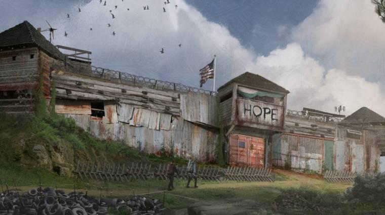 A Left 4 Dead fejlesztőinek új játéka posztapokaliptikus hangulatú rajzon mutatta meg magát bevezetőkép