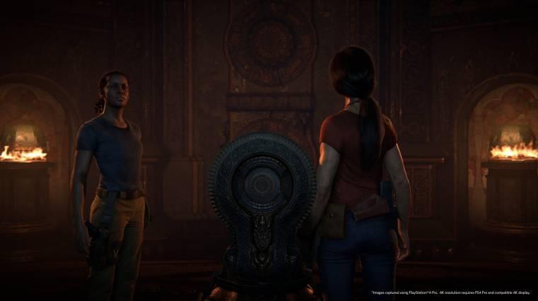 Uncharted: The Lost Legacy - 4K-ban büntet a launch trailer bevezetőkép