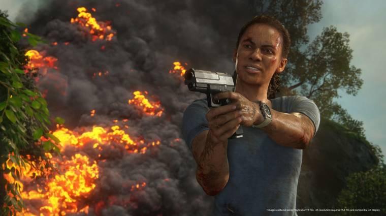 Uncharted: The Lost Legacy trailer - nem ez az utolsó spin-off? bevezetőkép