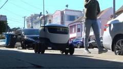 A Szilícium Völgyben már robotok viszik házhoz az ebédet kép