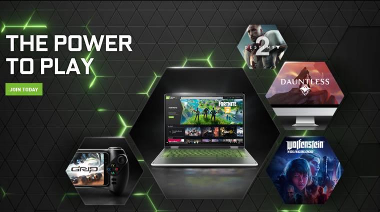 Hét év béta után elstartolt az Nvidia GeForce Now bevezetőkép