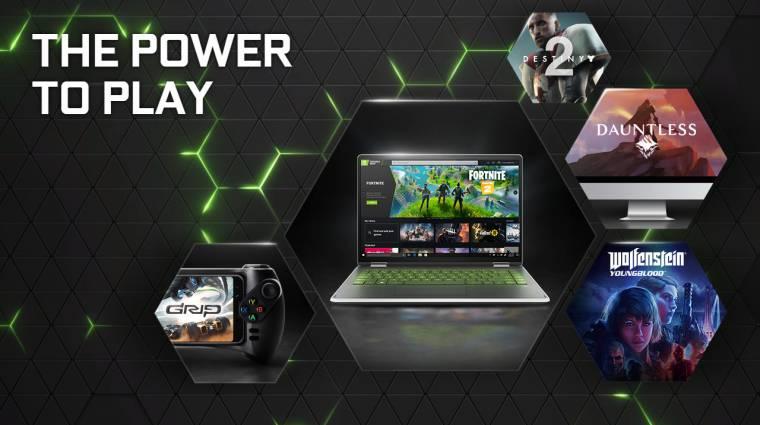 Rettentő népszerű a GeForce Now, még több játék jön hamarosan bevezetőkép