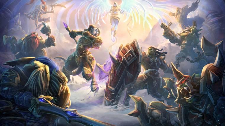 Heroes of the Storm - új hőssel és egy új térképpel jön az első Warcraft esemény bevezetőkép