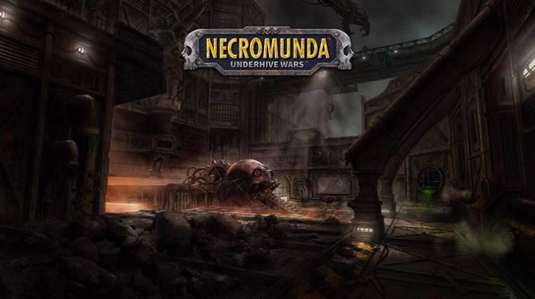 Necromunda: Underhive Wars bejelentés - újabb Warhammer 40K-s játékfeldolgozás jön bevezetőkép