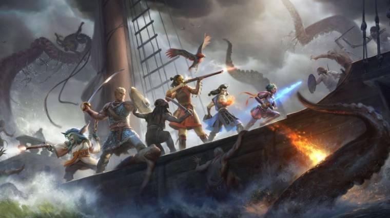 Kiadót talált a Pillars of Eternity II: Deadfire bevezetőkép