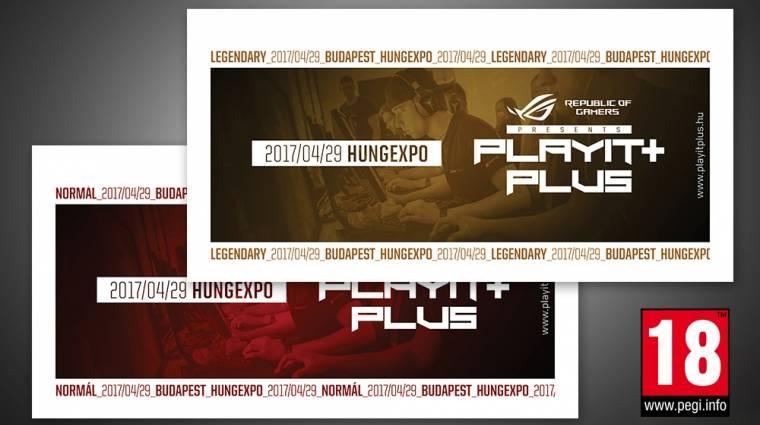 Már kaphatóak a jegyek a budapesti ROG PlayIT Plusra! bevezetőkép
