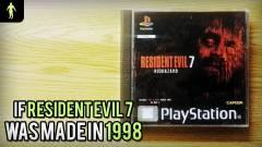 1998-ban így festett volna a Resident Evil VII kép