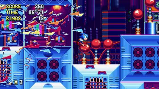 Sonic Mania infódoboz