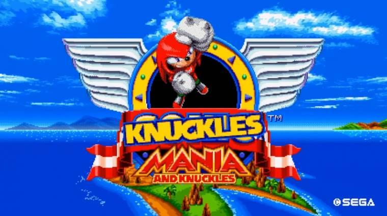 Sonic Mania - a PC-s modolhatóságnak hála minden Knucklesszé változott bevezetőkép