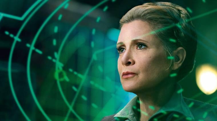 Carrie Fisher visszatér a Star Wars 9-ben, méghozzá CGI nélkül kép