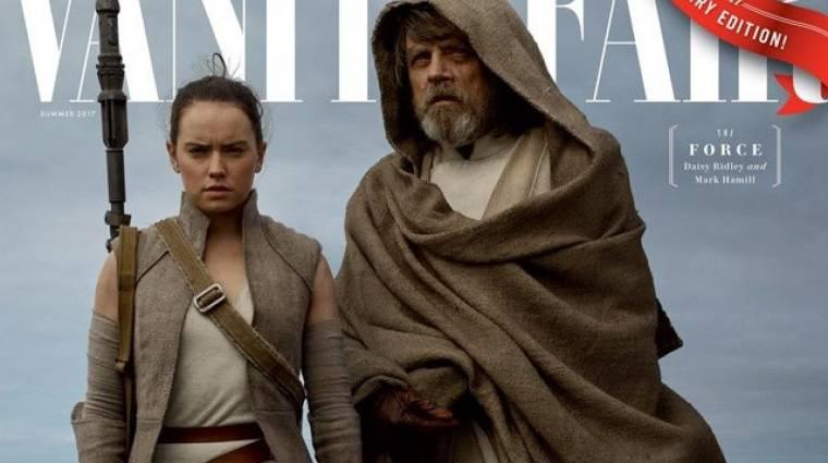 Címlapon a Star Wars: Az utolsó Jedik kép