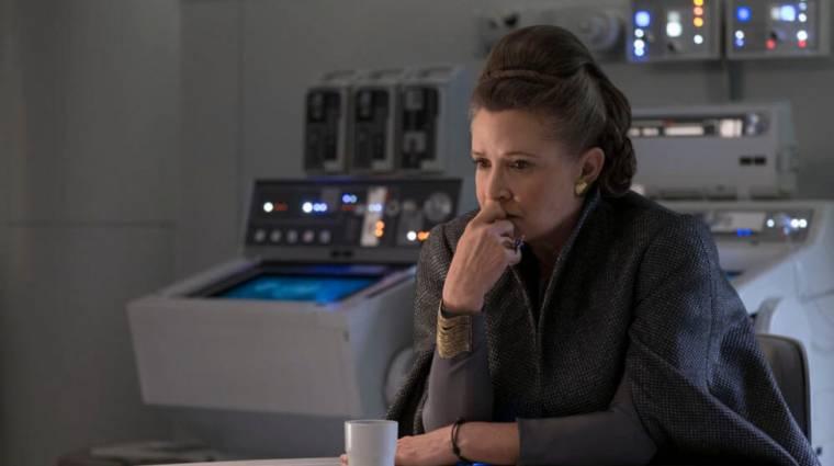 Eredetileg ezt a szerepet szánták Carrie Fishernek a Skywalker korában kép