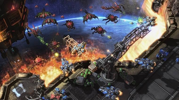StarCraft II - már tesztelhető az óriási multiplayer frissítés bevezetőkép