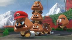 Valaki 200 goombából épített tornyot a Super Mario Odyssey-ben kép