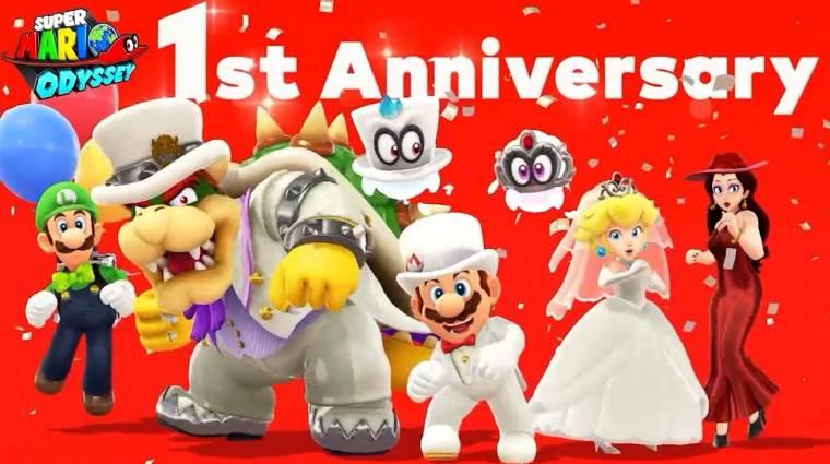 Super Mario Odyssey - rengeteg pénzérmét gyűjthetünk be az első évforduló alkalmából bevezetőkép