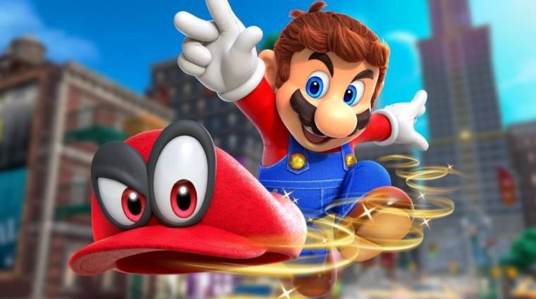 Super Mario Odyssey - ilyen lesz a kooperatív mód bevezetőkép