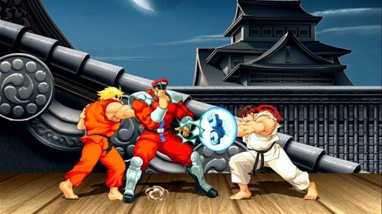 Retro Street Fighter játék is beköszön a Switchre bevezetőkép